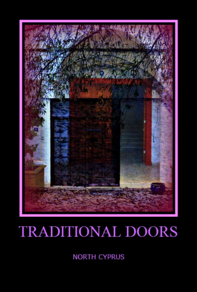 Poster - Traditional Doors, North Cyprus 1