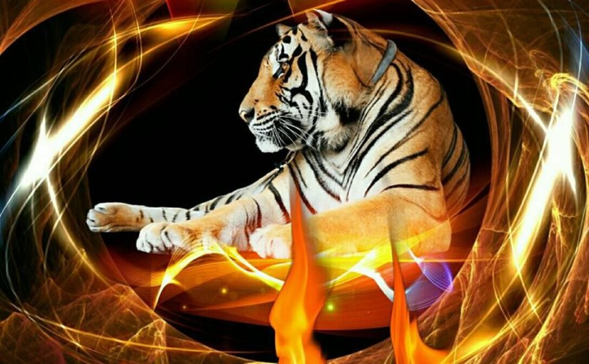 Tyger! Tyger! Burning Bright!